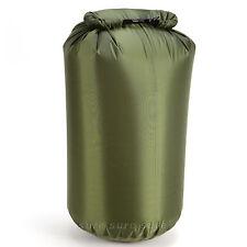 ARMY GREEN 40L DRY SACK WATERPROOF BAG FOLD BAG CANOE KAYAK SWIM SAIL RAFT BOAT
