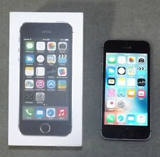 APPLE iPHONE 5 16GB AT&T Black iOS 9.3.1 ME305LL/A Used in Working Order