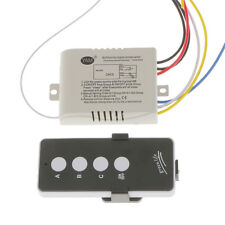 3-Way Wireless ON/OFF Switch Lamp Light RF Remote Controller Module 200-240V