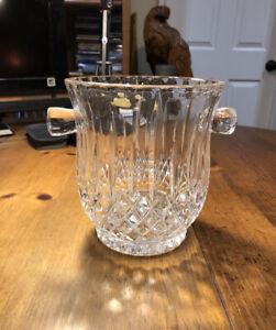 Gorham Full Lead Crystal King Edward Ice Bucket Wine Cooler Champagne NEW