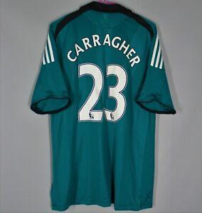 LIVERPOOL ENGLAND 2008/2009 THIRD FOOTBALL SHIRT ADIDAS #23 CARRAGHER