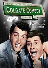 MARTIN & LEWIS COLGATE COMEDY HOUR 1 2 3 & 4 (4PC) - DVD - Region 1 - Sealed