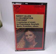 Nancy Allen A Celebration For Harp Audio Cassette Tape 4DS 537334