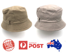 MENS WOMENS COTTON BUCKET HAT OUTDOOR FISHERMAN CAP SPORTS SUMMER HAT
