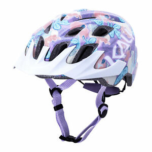 Kali Protectives Chakra Youth Helmet Flora Purple - Youth One Size