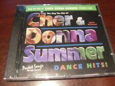 POCKET SONGS KARAOKE DISC PSCDG 1449 CHER & DONNA SUMMER CD+G MULTIPLEX