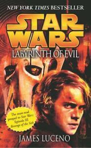 Star Wars: Labyrinth Of Evil Da Luceno, Giacomo, Nuovo Libro, Gratuito