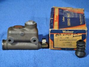 1953 Willys APC Passenger Master Cylinder Assembly NORS