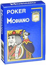 Poker Modiano Light Blue Playing Cards Deck brand new sealed