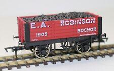 "Dapol R2r OO Scale 5 Plank Freight Wagon E.a.robinson B813 ""new"" FNQHobbys"
