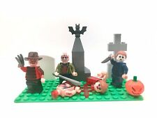 80's Halloween Nightmare Custom Set Freddy Krueger Jason Voorhees Michael Myers