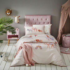 Adairs Kids Moroccan Dreaming Pale Pink Double Quilt Cover