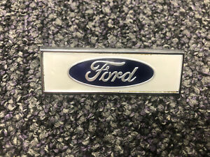 GENUINE FORD CORTINA MK1 PRE AEROFLOW FRONT WING FORD BADGE J FRY 109E16079