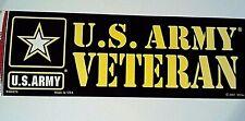 """U.S. Army Veteran Bumper Sticker 9 1/2"""""""