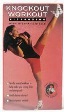 Knockout Workout - Kickboxing (VHS, 1993) Staphanie Steele