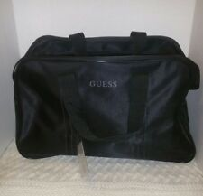 Guess Black Carry on Travel/Weekend Tote/Duffle Bag