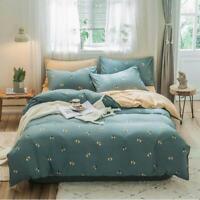 3D Cartoon Bee ZHUA3212 Bed Pillowcases Quilt Duvet Cover Set Queen King Zoe
