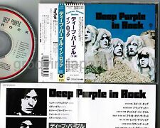 DEEP PURPLE In Rock JAPAN CD 20P2-2603 w/Forever Young OBI+INSERT Free S&H/P&P