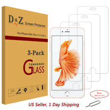 "3Pcs Premium Real Temper Glass Screen Protector for Apple 5.5"" iPhone 6 s Plus"