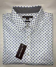 NEW Michael Kors Men's Floral Print Slim Fit Short-Sleeve Shirt Size XL