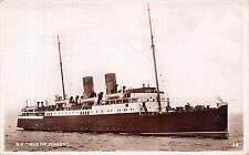 "S.S.Isle of Jersey, RP, ""Excel Series"", Mr Woodeson, Cove, Farnborough,   Q2037"