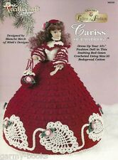 Cariss of Bainbridge Ladies of Fashion Crochet Gown Pattern for Barbie Dolls NEW
