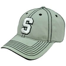 NCAA Michigan State Spartans Platinum Clean Up  Adjustable Hat Cap Curved