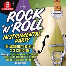 ROCK'N'ROLL INSTRUMENTAL PARTY  3 CD NEU