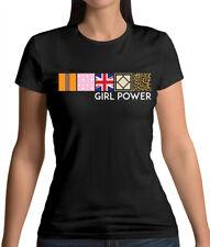 Girl Power - Womens T-Shirt - Spice - Band - Music - Sporty - Scary - Posh - Fan