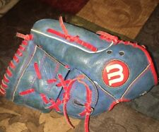 Wilson A450 Series 12� Inch Youth Baseball Glove Right-Hand-Throw Blue Leather!