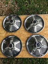 ford mustang hubcaps, set of 4