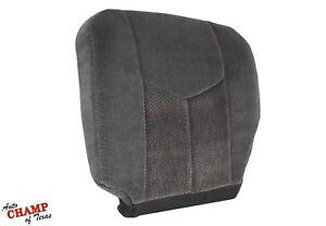 2006 Chevy Silverado 1500 2500 HD LS-Driver Side Bottom Cloth Seat Cover Dk Gray