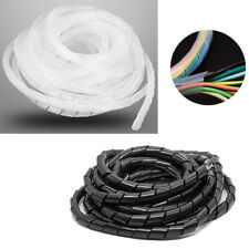 4-30mm diámetro ordenado en espiral de alambre Tubo de envoltura de cable 2/3/5/6/8/10/15/20M PC TV organizar