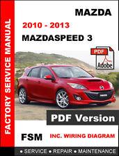 automotive pdf manual ebay stores mazda 3 radio wiring mazda mazdaspeed 3 mazdaspeed3 2010 2013 factory oem service repair fsm manual