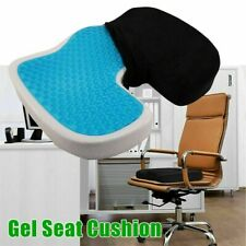 Cadeira De Escritório Gel Ortopédica assento Encosto contundido Kit dor ciática