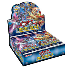 Genesis Impact Booster Box 1st Edition Factory Sealed New Yu-Gi-Oh!