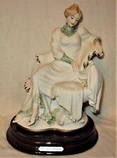"Giuseppe Armani Porcelain Figurine, ""Tender Love"" #692F - Original Box Included"
