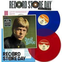 2 LP DAVID BOWIE - SAME - RSD 2018 - ONLY 3000 - RED + BLUE - ORIGINAL MASTER