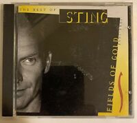Sting ‎– Fields Of Gold: The Best Of Sting 1984 - 1994 CD A&M Records VG+
