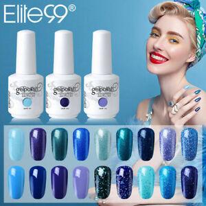 Elite99 Gel Nail Polish Colour Varnish Soak-Off 15ML Manicure Salon UV LED DIY