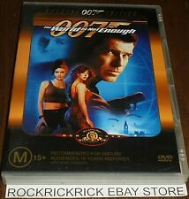 007 THE WORLD IS NOT ENOUGH DVD REGION 4 1999 SPECIAL 007 EDITION PIERCE BROSNAN