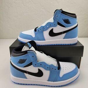 Nike Air Jordan 1 Retro High OG PS TD University Blue AQ2664-134 Athletic Shoe