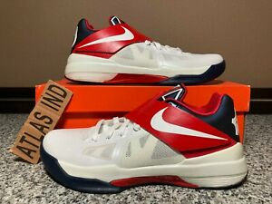 NIKE ZOOM KD IV Olympic USA Kevin Durant 2012 4 473679 103 Size 9