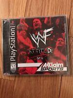 WWF Attitude (Sony PlayStation 1, 1999) Complete