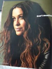 ALANIS MORISSETTE James Bay Photo interview Guardian Magazine JANUARY 2016 NEW