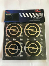 Metal sticker Opel  embleme wheel rim center caps  4x60mm