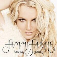 """BRITNEY SPEARS """"FEMME FATALE"""" CD NEU"""