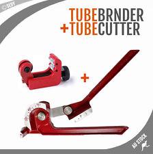"""3 in 1 Tube Pipe Bender 1/4"""" 5/16"""" 3/8"""" 6mm 8mm 10mm & Mini Tube Cutter 3-22mm"""