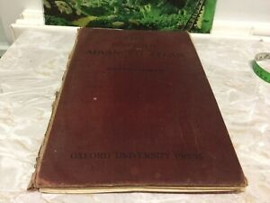 The Oxford Advanced Atlas Bartholomew Oxford University Press 1928 third edition