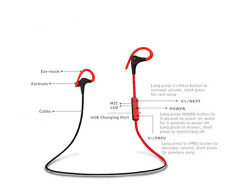 Wireless Sports Bluetooth v4.0 Earphone Headset for Samsung Galaxy S8 S9 EDGE +